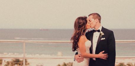 A Raleigh Wedding Couple
