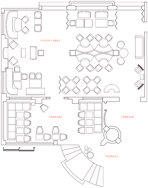 Restaurant Michael Schwartz Floor Plan