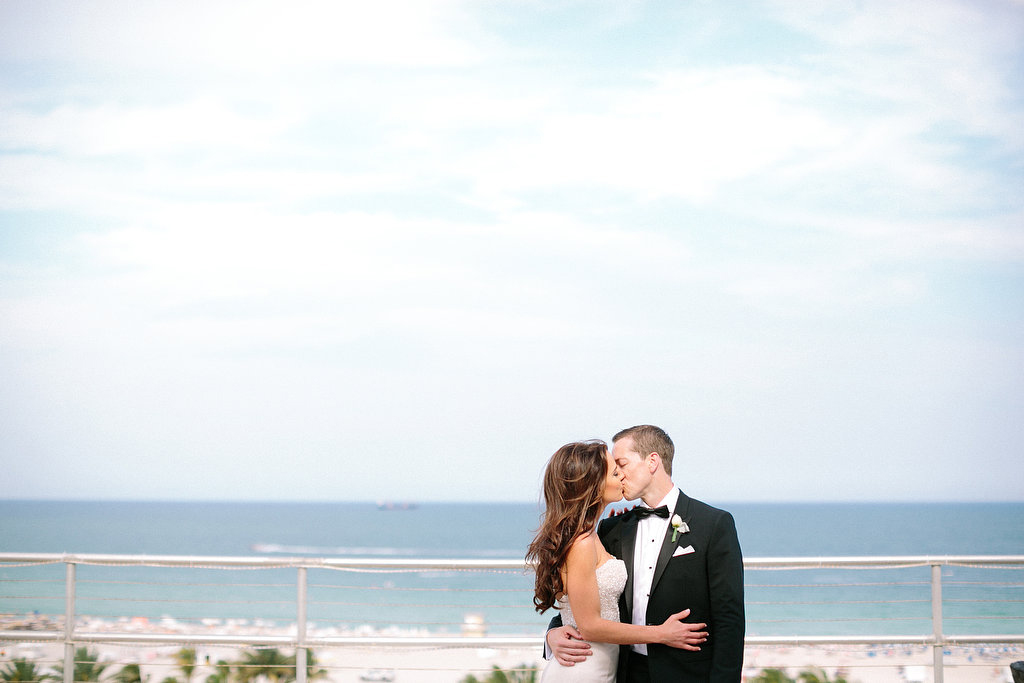 Wedding Couple by the Ocean