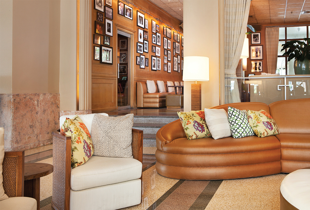 Lobby Couch