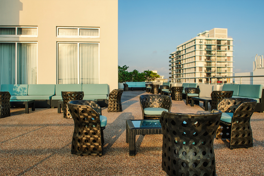Penthouse Patio Chairs and Tables