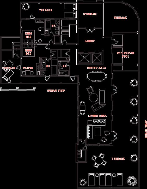 The Penthouse Floor Plan