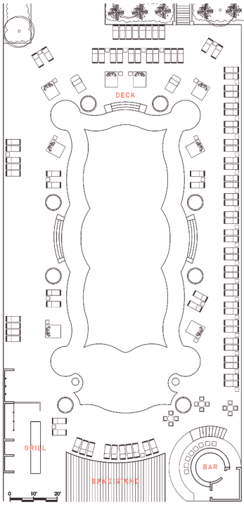 The Pool Floor Plan