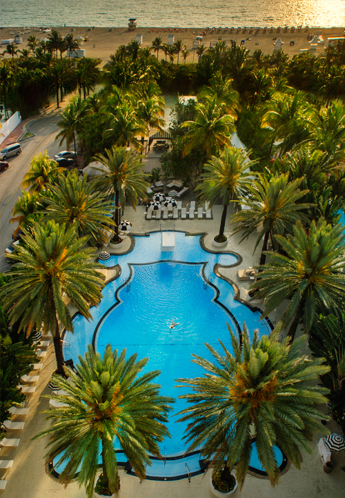 The Pool, An Aerial View