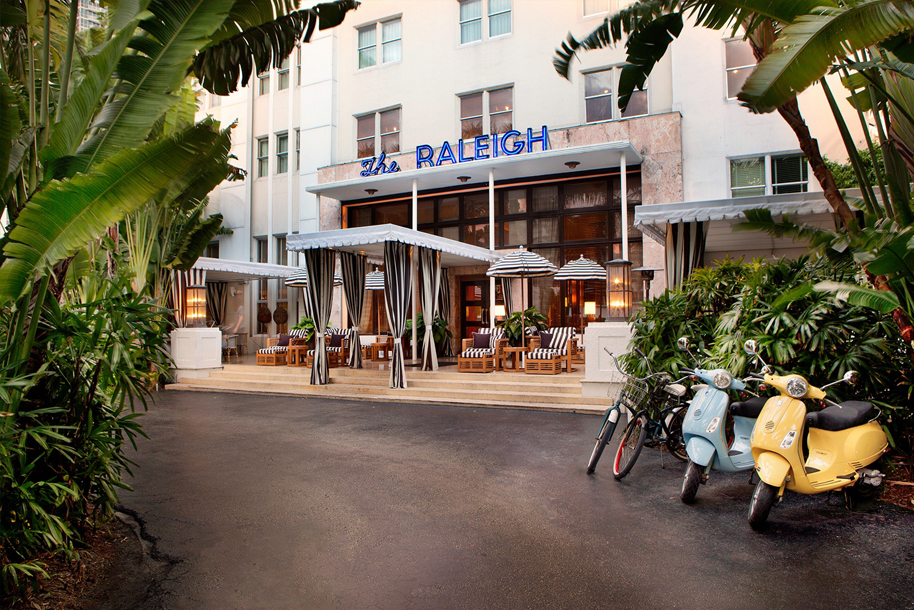 Billedresultat for raleigh hotel miami beach